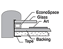 Framing with Acrylic Glazing Tips 4d